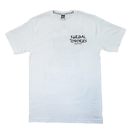 SUICIDAL TENDENCIES x VOLCOM  Tee <WHT>
