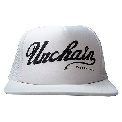 UNCHAIN factory Good day? mesh cap <white>