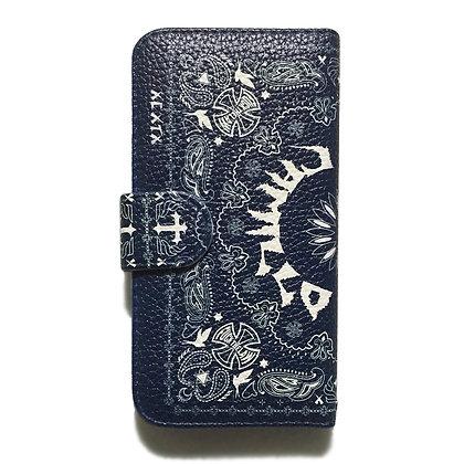 Camillo x MIDORI sk8  iphone case <Navy>
