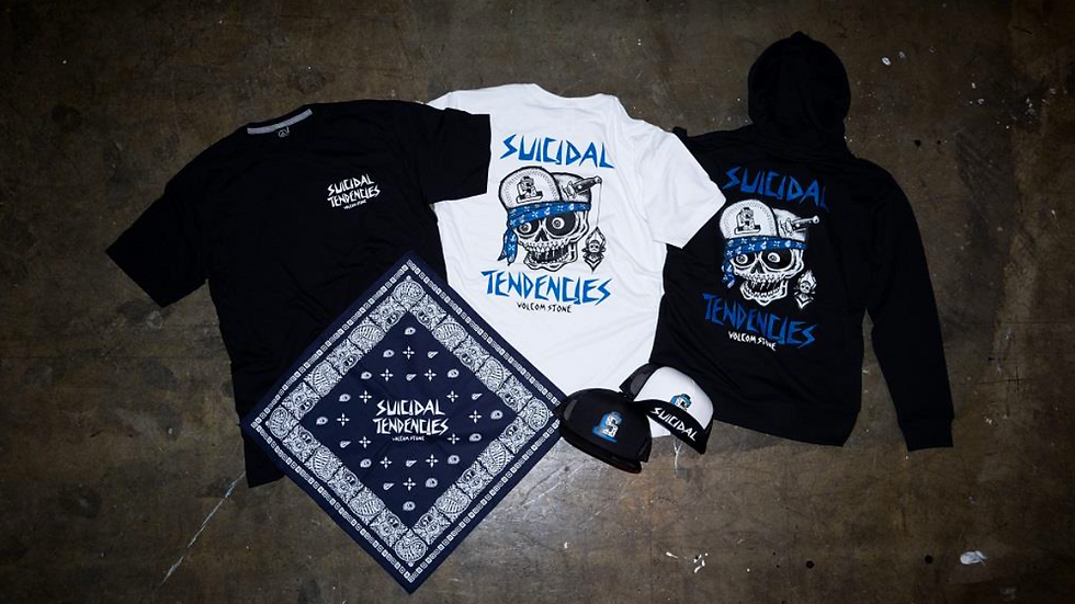 VOLCM x SUICIDAL TENDENCIES