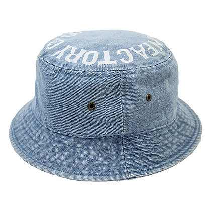 UNCHAIN factory Bucket hat <denim L.blue>