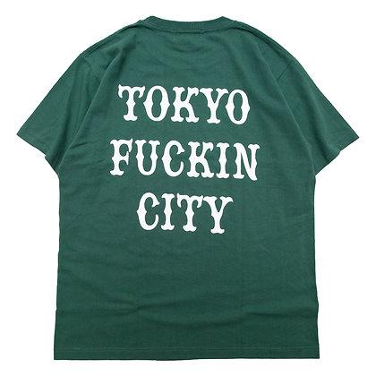 CAMILLO TOKYO FUCKIN CITY TEE <IVY GREEN>