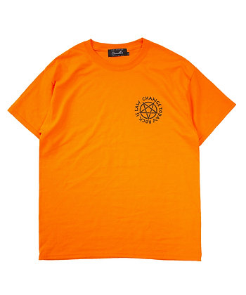 DEVILL CAMILLO TEE (NEON ORANGE)