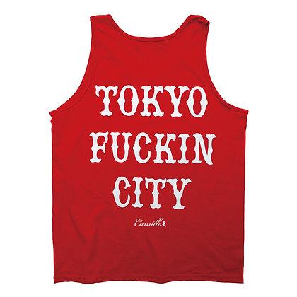 CAMILLO TOKYO FUCKIN CITY TANKTOP <RED>