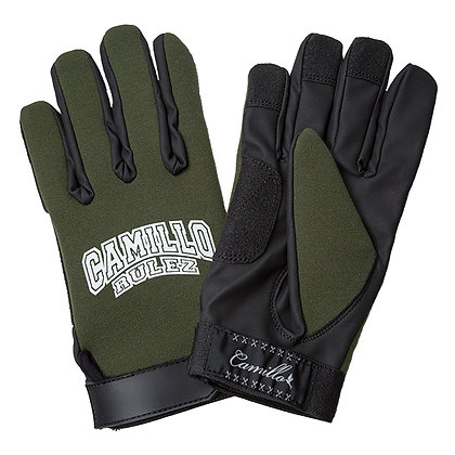 CAMILLO NEOPRENE GLOVE / RULEZ  <KHAKI>