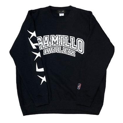 CAMILLO RULEZ CREW NECK SWEAT ( 3 COLOR )