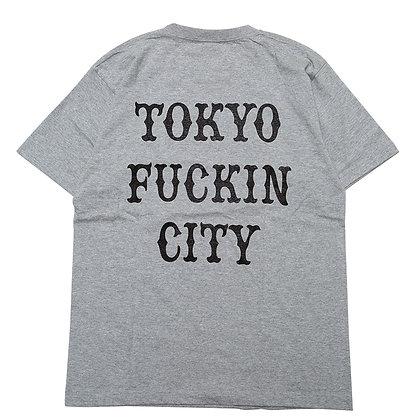 CAMILLO TOKYO FUCKIN CITY TEE  < GREY >