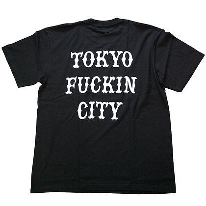 CAMILLO TOKYO FUCKIN CITY TEE <BLACK>