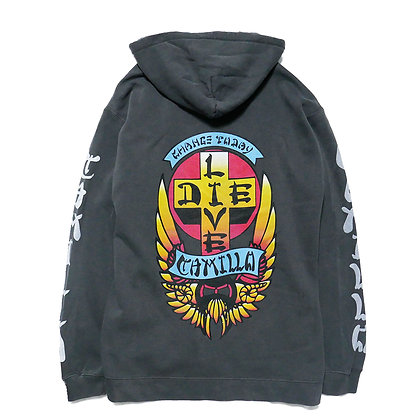 CAMILLO LIVE OR DIE P/O HOODIE  COLOR ( PEPPER )