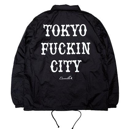 CAMILLO TOKYO FUCKIN CITY COACH JACKET < 2 color >