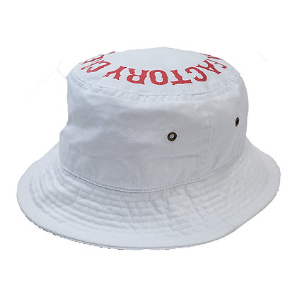 UNCHAIN factory Bucket hat <white>