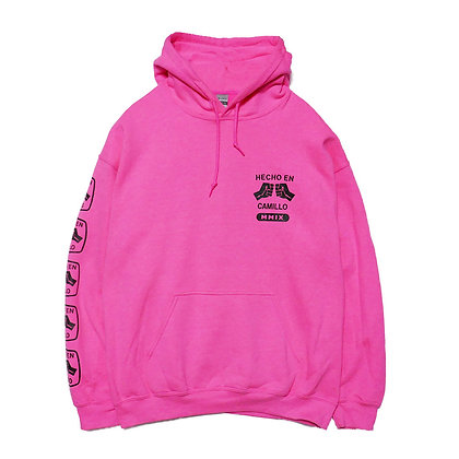 HECHO EN CAMILLO P/O HOODIE (PINK)   NEW COLOR
