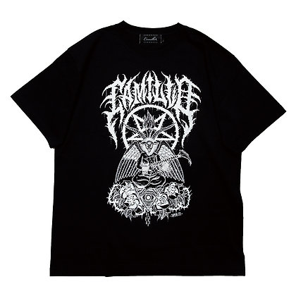 "CAMILLO X LAZY13 Collaboration ""Baphomet""  TEE <Black>"