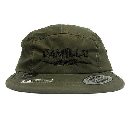 CAMILLO X BONE Water Repellent Cap ( OLIVE )