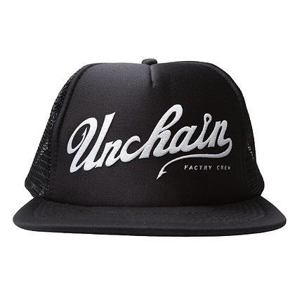 UNCHAIN factory Good day? mesh cap <black>