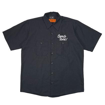 CAMILLO RULEZ WORK SHIRTS (BLACK )