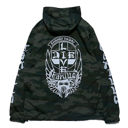 CAMILLO LIVE OR DIE ANORACK JACKT (CAMO)