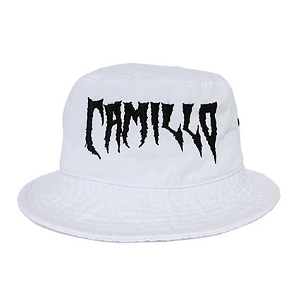 CAMILLO DEVIL WASHED BUCKETHAT WHITE