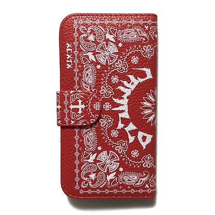 Camillo x MIDORI sk8  iphone case <Red>