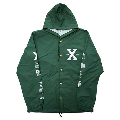 CAMILLO 10th ANNIVERSARY HOODED COACH JACKT <GREEN>