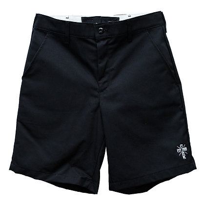 CAMILLO 10th ANNIVERSARY WORK SHORT PANTS <BLACK>