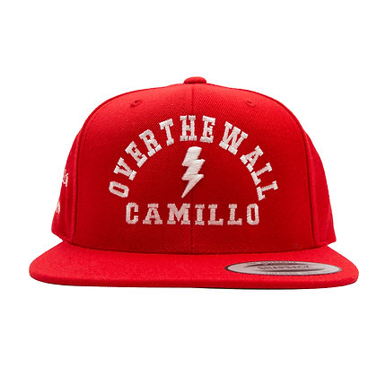 CAMILLO 10TH ANNIVERSARY SNAPBACK ( RED )
