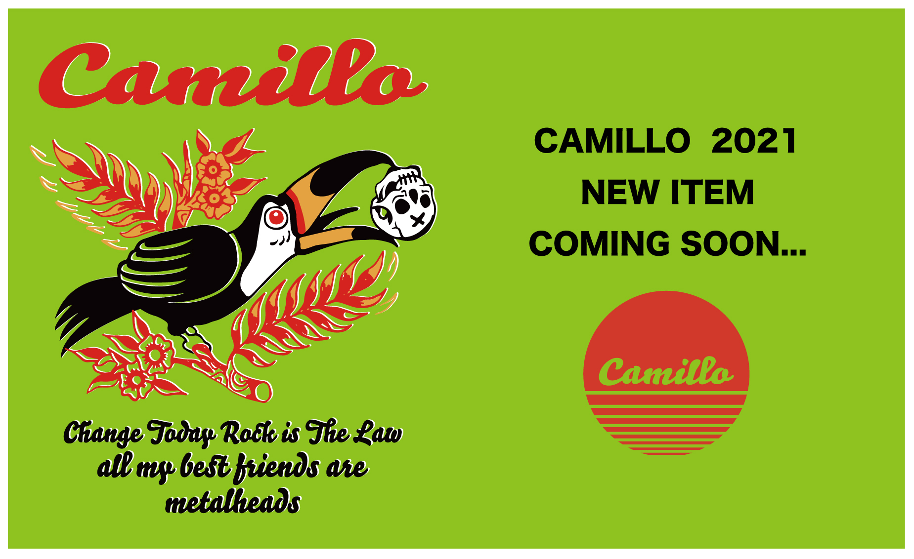2021 CAMILLO NEW ITEM