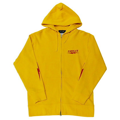 CAMILLO X BONE ZIP HOODIE ( KANARIA YELLOW )