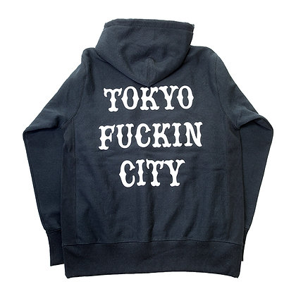 CAMILLO TOKYO FUCKIN CITY Pullover Hoodie <BLACK>