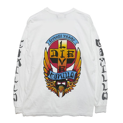 CAMILLO LIVE OR DIE L/T  Color  (WHITE)