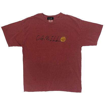 CAMILLO HELLYEAH TEE ( CRIMSON )