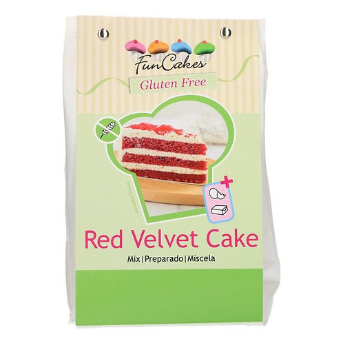 Funcakes Glutenvrije Red Velvet Cake