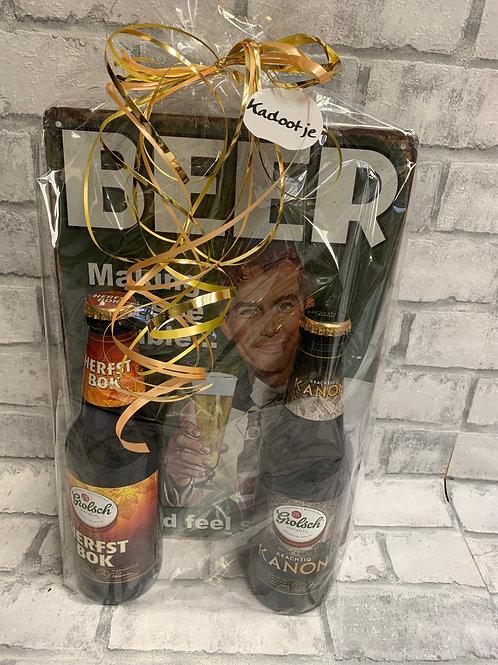 Bier cadeau