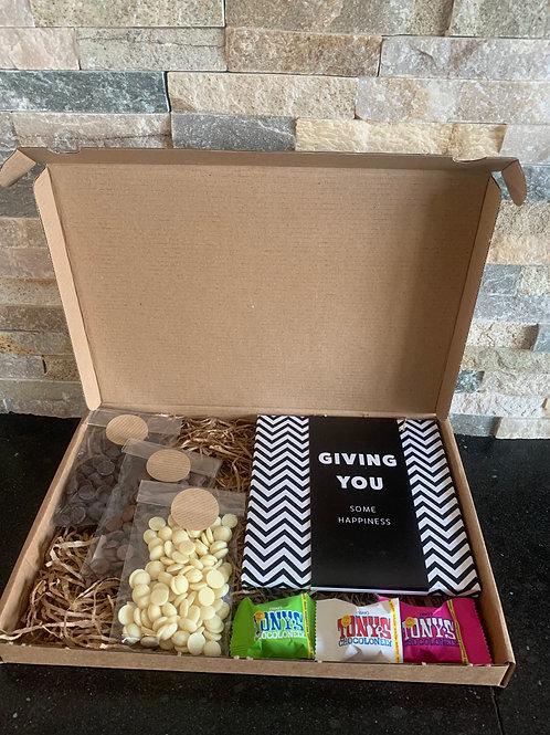 Chocolade brievenbus pakket L
