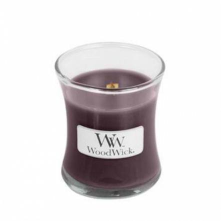 WoodWick Black Plum Cognac Candle vanaf