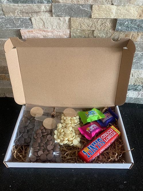 Chocolade brievenbus pakket M