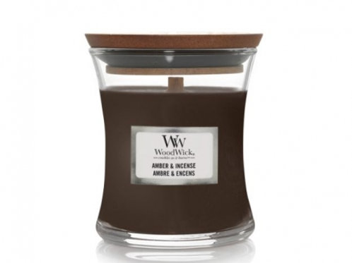 WoodWick Amber& Incense Candle vanaf