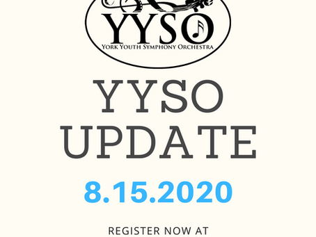 YYSO Update 8.15.2020