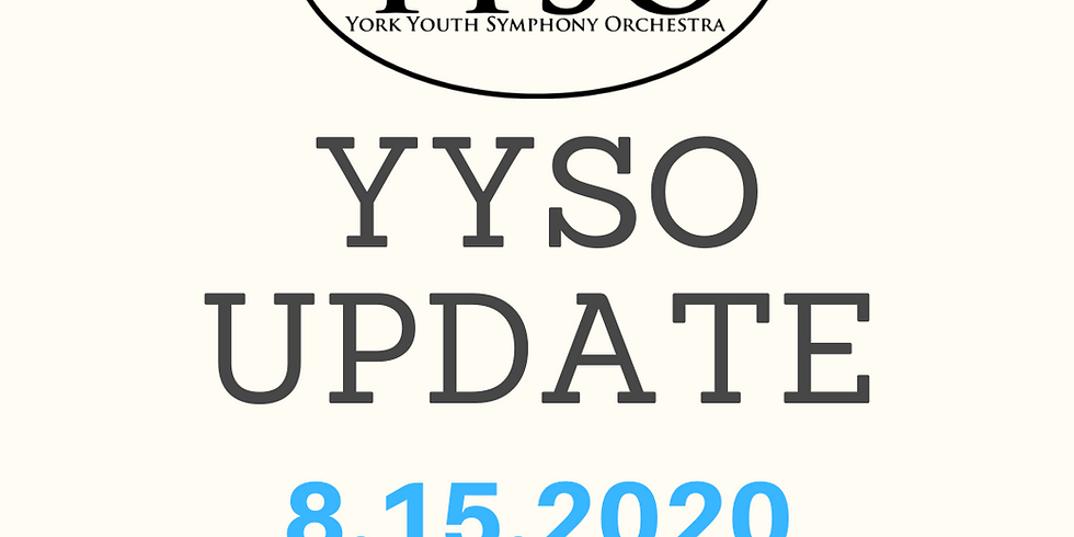 YYSO COVID-19 &  Tuition Webinar