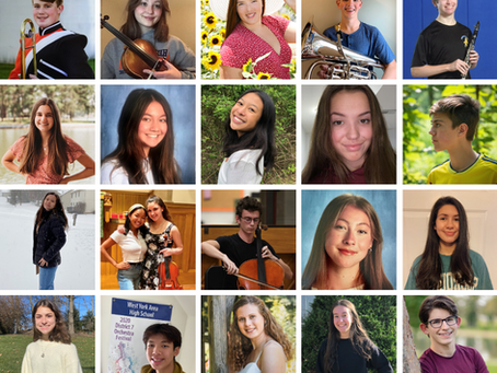 39 YYSO Students Accepted Into PMEA District 7 Band & Orchestra