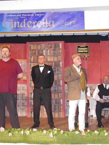Jason Green, Nigel Holloway and Peter Hall