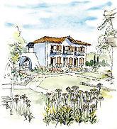 Villa Molos sketch