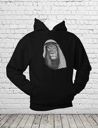 Arab Lion Pullover Hoodie