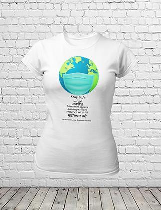 Stay Safe Corona T-Shirt - Women