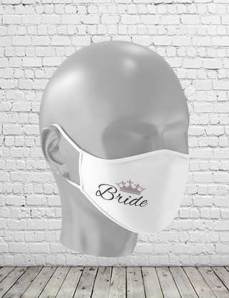 Bride Washable Face Mask