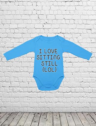 Sitting Still Baby Bodysuit