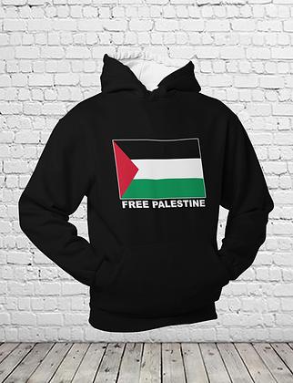 Free Palestine Unisex Pullover Hoodie