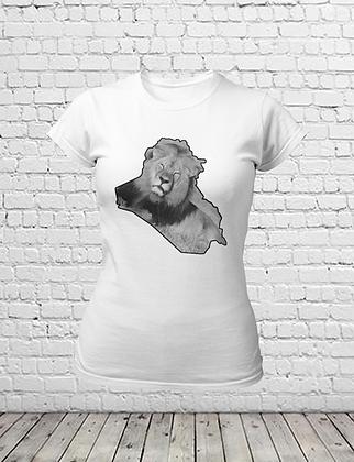 Lions of Iraq T-Shirt - Women
