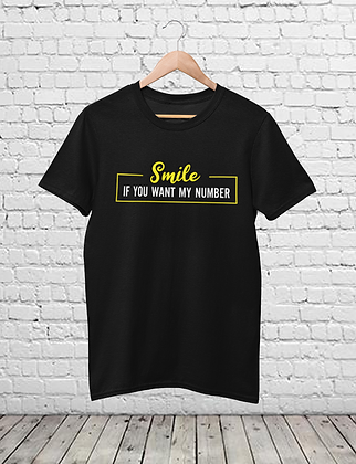 Smile Funny Chat Up T-Shirt