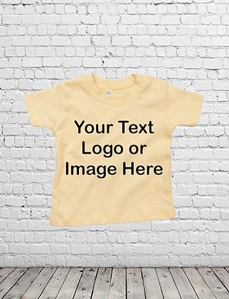 Custom Print Unisex Baby/Toddler T-Shirt